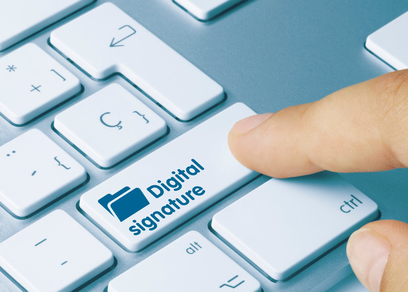 E-Sign Extended for More Tax Forms